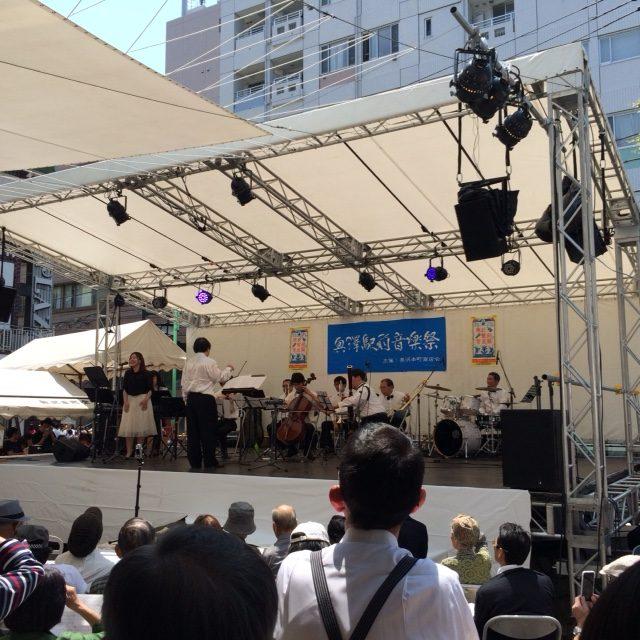 奥沢駅前 音楽祭