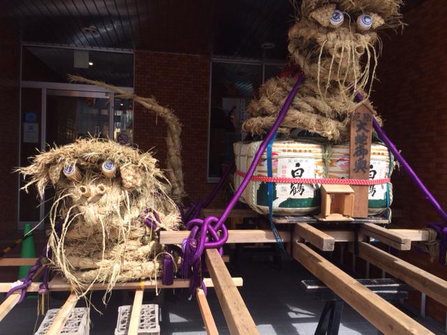 奥沢神社恒例 「大蛇祭り」