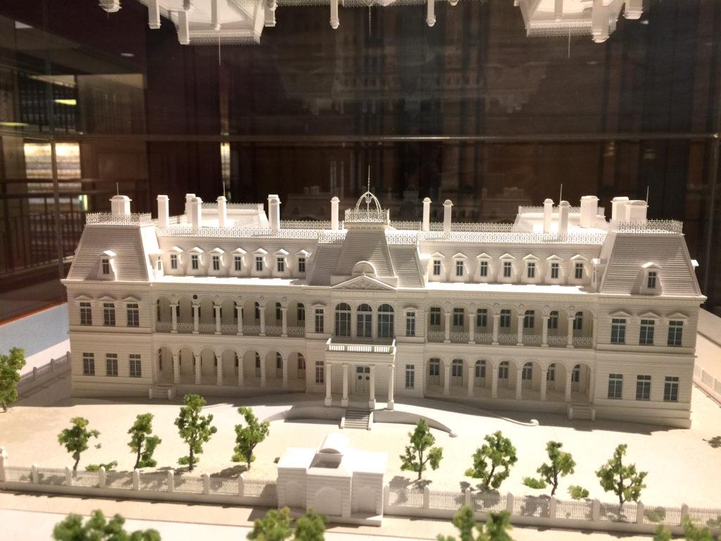帝国ホテル 展示模型